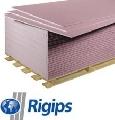 Placa gips-carton ignifuga 12.5 mm RIGIPS
