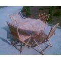 Mese   scaune   sezlonguri din bambus