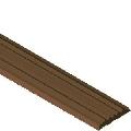 Insertie din PVC cauciucat pentru protectiile de treapta cu canal, lungime 2.7 m