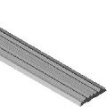 Insertie din PVC cauciucat pentru protectii de treapta cu canal, lungime 3 m