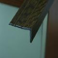 Protectie treapta din aluminiu sublicromat electrostatic in nuante de lemn, 25 x 20 mm.