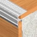 Protectie din eloxALUM20 pentru trepte parchetate, adancime 8 mm