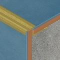 Protectie din eloxALUM20<sup>®</sup> pentru trepte ceramice, 12 mm adancime
