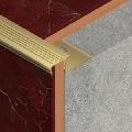 Protectie din alama regala<sup>®</sup> pentru trepte ceramice, 12 mm adancime