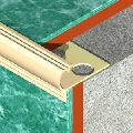 Protectie rotunjita din alama regala<sup>®</sup>, 11 mm adancime