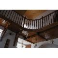 mansarda cu balcon si balustrada