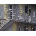 Balustrada inox cu montanti deviati