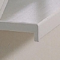 Terminatie dreapta din PVC pentru glafuri de interior