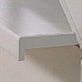 Terminatie stanga din PVC pentru glafuri de interior