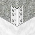 Cornier pentru tencuiala din aluminiu