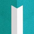 Cornier din PVC 20 x 20 mm alb 2.5 m