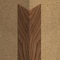 Cornier din PVC 30 x 30 mm culori lemnoase 2.7 m