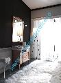 Mobilier baie lemn culoare nuc lavoar/chiuveta 100 cm gama Retro