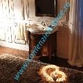 Mobilier baie lemn culoare nuc lavoar/chiuveta 69 cm gama Retro
