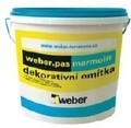 Weber.pas marmolit Tencuiala decorativa - 25 kg