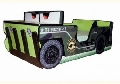 Patut copii masinuta de teren Jeep 160 x 80 cm - Patut