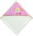 Prosop de baie roz cu gluga - FUNK99553 FUNK99553