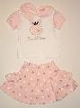 Fustita si tricou roz - 12608A 12608A