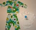 Pijamalute verzi pentru bebelusi- 14316 14316