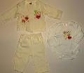 Set pijamalute bebeluse cu iepurasi- 14318 14318