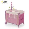 Pat Bebelusi Dream\'n Care Center - Pliabil, roz cu fluturasi - MGZ608050 MGZ608050