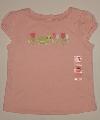 Tricou roz fetite - 13789 13789