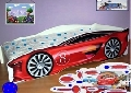 Patut copii masina de curse 150x74 cm Rosu - COS010 COS010