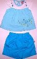 Costum albastru de vara pentru fetite - 1747_1 1747_1