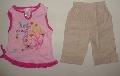 Pantalon scurt cu maiou roz - 7189_1 7189_1
