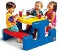 Masă picnic cu banchetă 6 copii - HPB4668 HPB4668