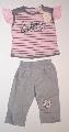 Pantalon gri cu tricou roz - 11028_1 11028_1