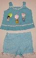 Costumas bleu pentru fetite - 1751_1 1751_1