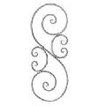 Elemente pentru balustrăzi și garduri - 541/2