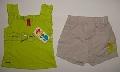 Pantalon scurt cu maiou verde - 7178\'_1 7178\'_1