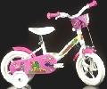 Bicicleta cu maner de metal Serie L Alb - HPB108FL_1 HPB108FL_1