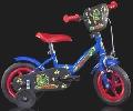 Bicicleta cu maner de metal Serie L Albastra - HPB108FL HPB108FL