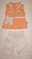 Pantalon scurt cu maiou portocaliu - 5541\'_1 5541\'_1