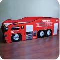 Pat copii tineret 2-12 ani masina Pompieri - PC055 PC055