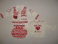 Costumas cu inimioare pentru bebeluse - 7912 7912