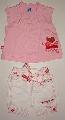 Bluzita roz cu pantalon scurt - 9303\' 9303\'