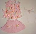 Set hainute roz pentru fetite - 9444A 9444A