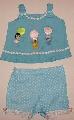 Costumas bleu pentru fetite - 1751 1751