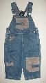 Salopete jeans baieti - 7377 7377