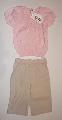 Camasa roz cu pantalon lung - 11026\' 11026\'
