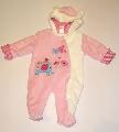 Salopeta roz pentru bebeluse - 11663 11663