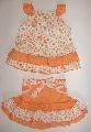Costumas portocaliu inflorat - 5587 5587