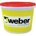 Tencuiala decorativa siliconica Weber.pas silicon plus grupa 1 de culoare