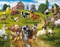 Tapet Copii Walltastic - Distractie la Ferma (Farmyard Fun) - GFK021 GFK021