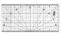 Rigla gradata MQR 15X30CM - patchwork