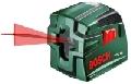 Nivela laser liniara PCL10 set de la Bosch VERDE